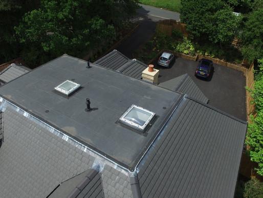 Brand new flat roof