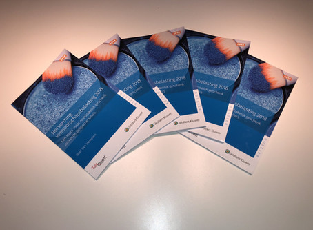 Boek Hervorming vennootschapsbelasting 2018 beschikbaar!