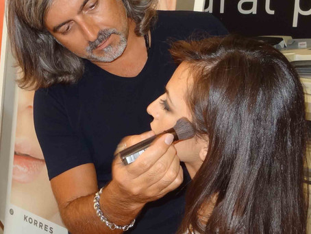 Make Up Art Seminars @korres Thessaloniki by Sakis Isaakidis