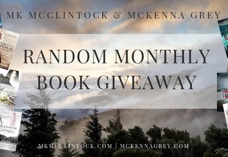 October Book Giveaway Winner