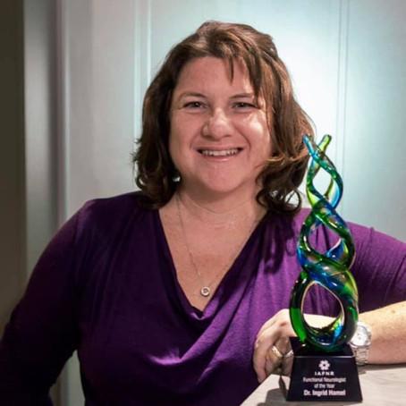 Dre Ingrid Hamel, lauréate du prix 2020