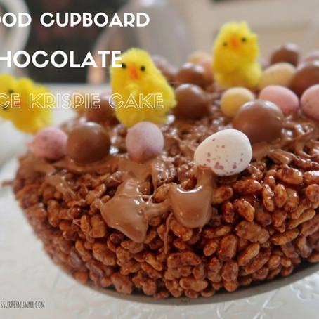 My Food Cupboard Rice Krispie Cake...