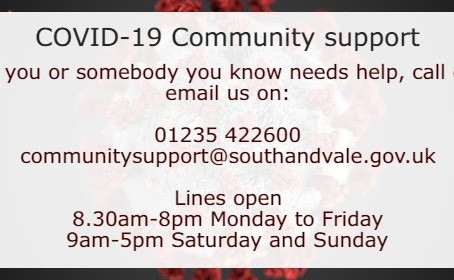 Community Support -  Vale of White Horse Web Site