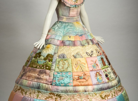 The dress that stitched a thousand tales...
