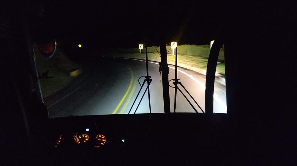 Avis bus de nuit colombie