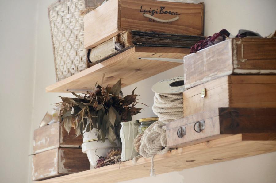 Cajas madera taller
