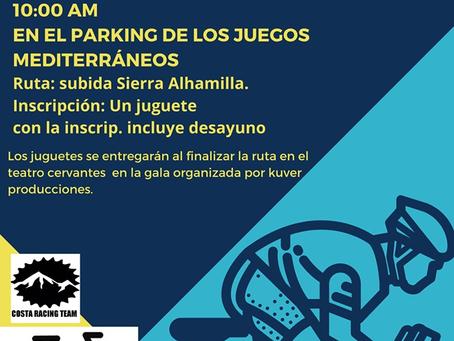 II Quedada Solidaria 'Una pedalada un juguete'