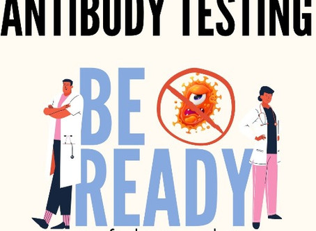 COVID-19 and Antibody Testing. What you need to know.