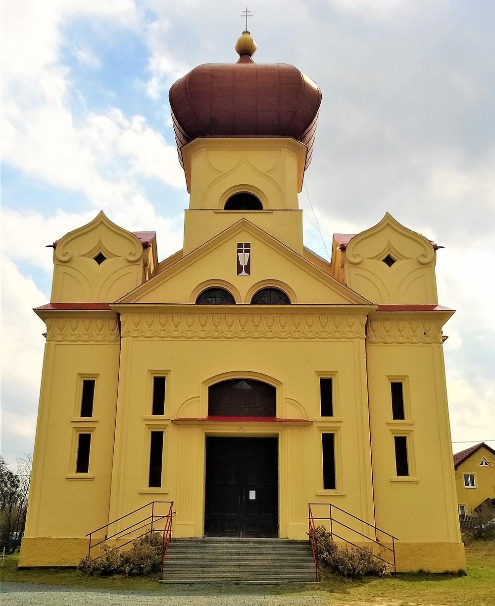 Kostel Církve Československé husitské v Chudobíně