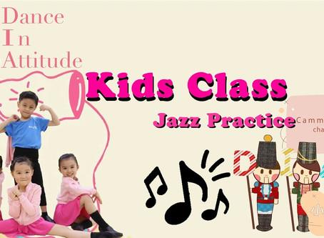 【DIA小教室】- Kids Jazz Class 爵士舞練習