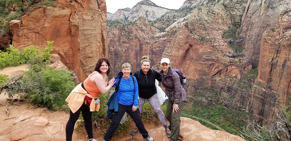 Angels Landing hike Utah
