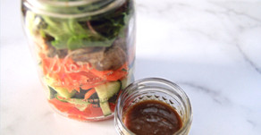 Protein & Vegetable Salad Jar