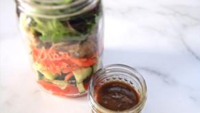 Protein & Vegetable Salad Jar