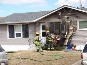 Fire at Parkdale home