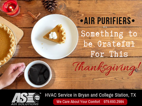 Air Purifiers: Something to be Grateful For This Thanksgiving