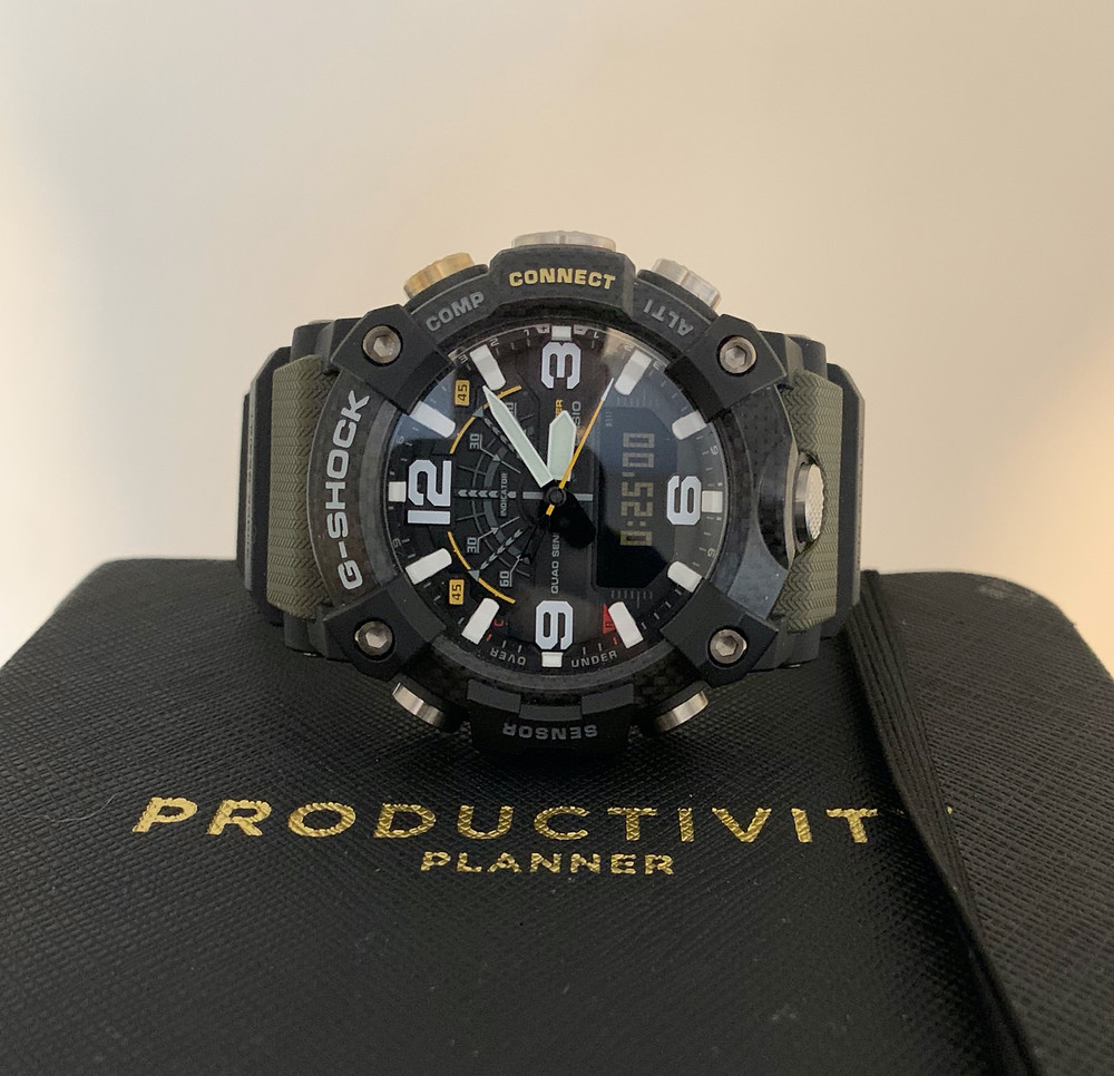 Trusty Mudmaster with timer 25min's and planner.