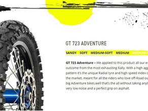 GT723 Adventure and Rally tyres