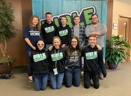 News from our District Bible Quizzers