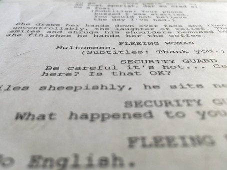 The Appeal to Reality in Screenwriting.