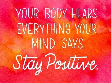 #health #mindbodysoul #staypositive