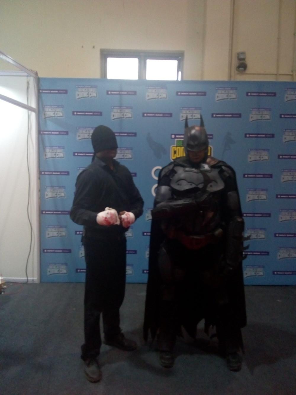 Batman and Daredevil Cosplay - Comic Con 2018 Bangalore