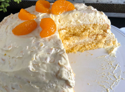 Orange Whip Cake