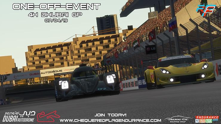 4 Hrs Dubai   GTE-GT3-LMP2