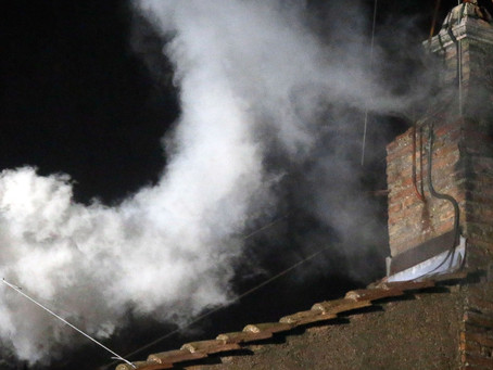 BREAKING:Pot smoking, sequestered Pope accidentally elects new Pope.