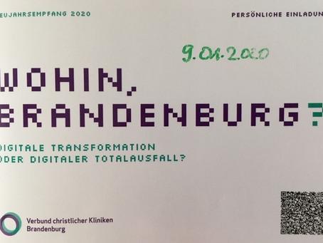 Neujahrsempfang des VcKB, Verbund christlicher Kliniken Brandenburg