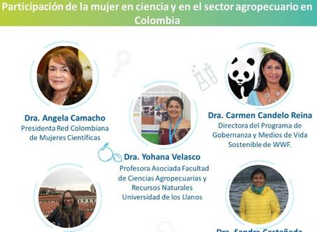 """conversatorio """"Participación de la mujer en ciencia y en el sector agropecuario en Colombia"""""""
