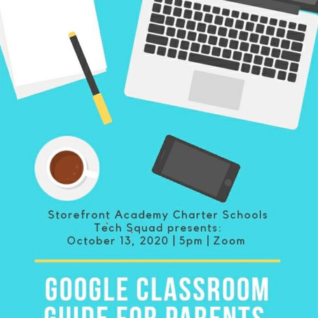 Google Classroom Guide for Parents!