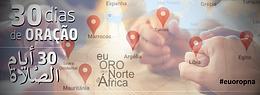 30 DIAS DE ORAÇÃO PELO NORTE DA ÁFRICA