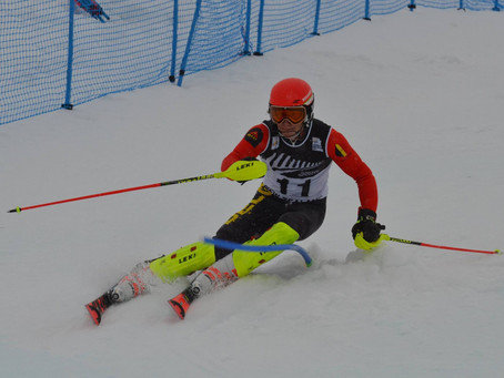 Sam wins also the NZL Slalom Championships.