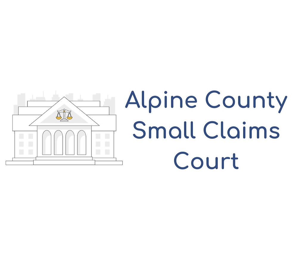 How to file a small claims lawsuit in Alpine County Small Claims Court