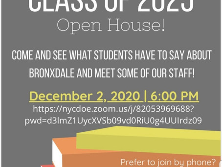 Bronxdale H.S. Open House