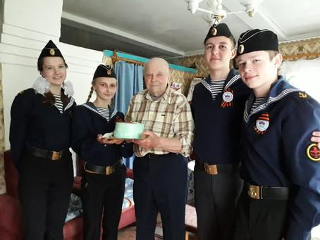 Поздравляем ветерана!