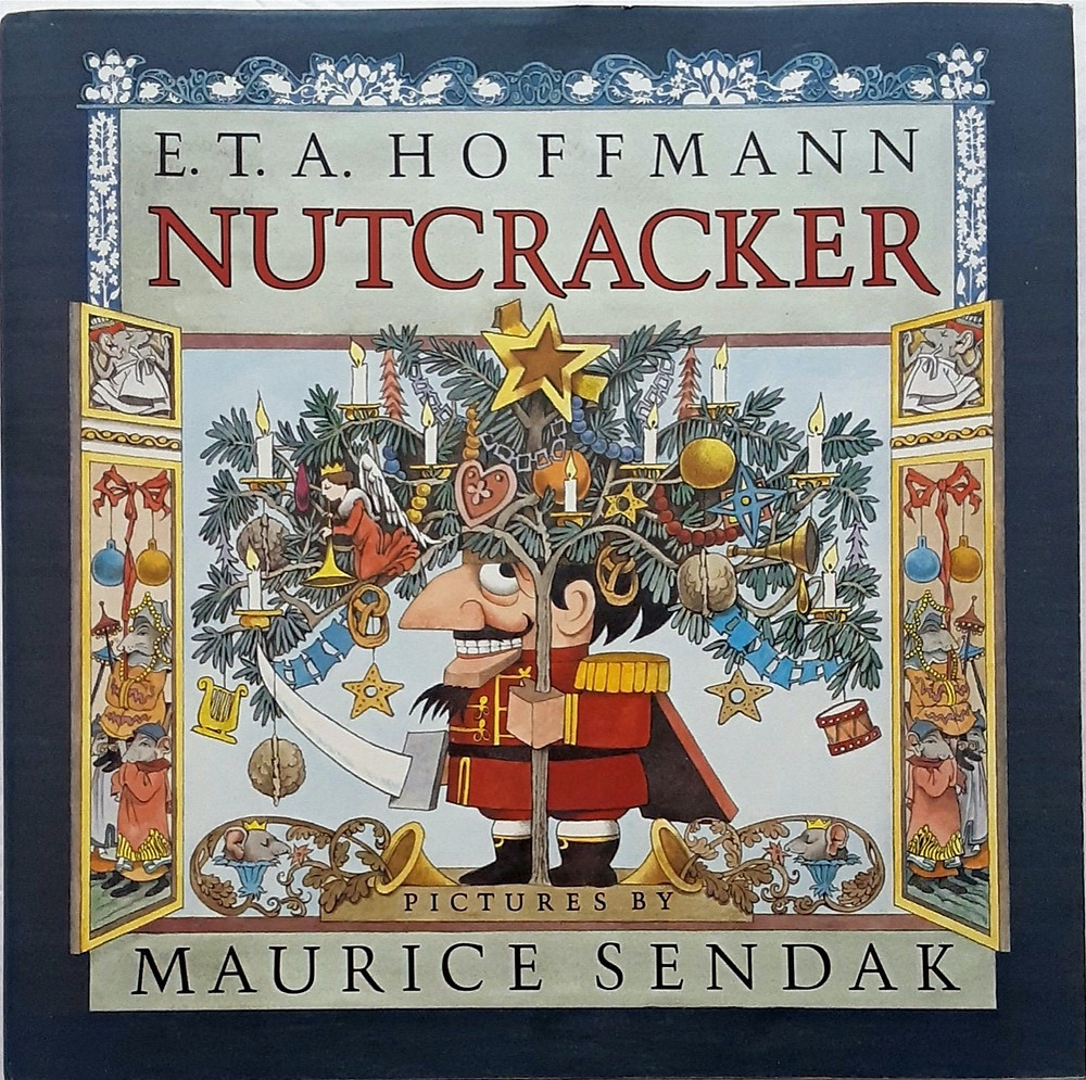 E.T.A. Hoffmann's Nutcracker book by Maurice Sendak with decorative cover