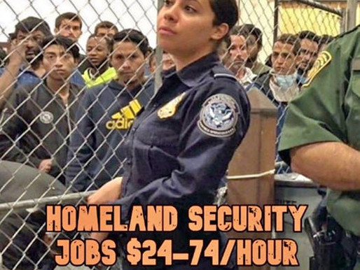 Help Wanted Homeland Security $ 25.00 per. Hour-$75.00 per. Hour.