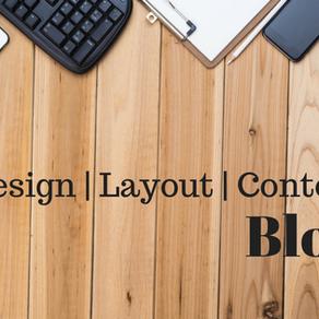 Design, Layout dan Content Blog
