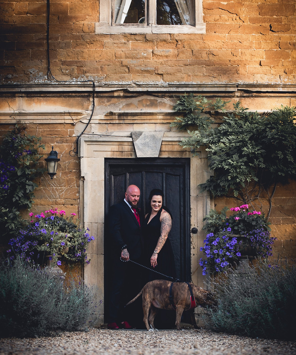 Inked Wedding Couple Allington