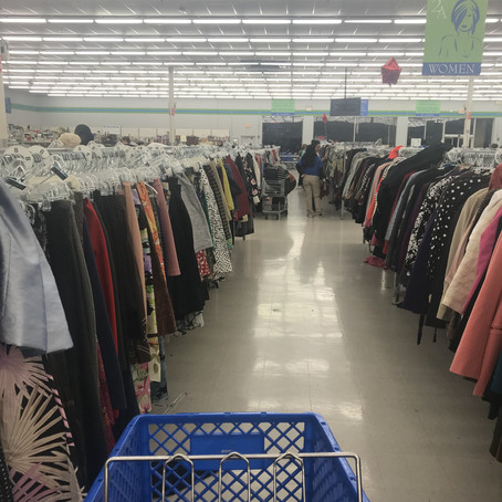 Thrifting for gifts