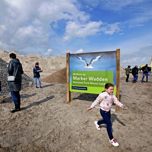 Netherlands Built 5 Artificial Islands to Preserve Wildlife