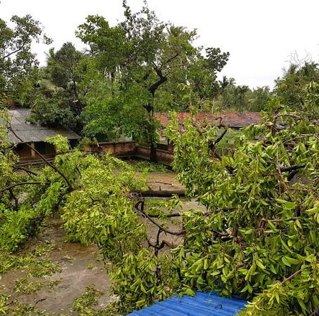 Super cyclone Amphan hits hard HSP