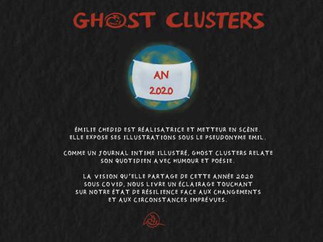 GHOST CLUSTERS, le livre illustré