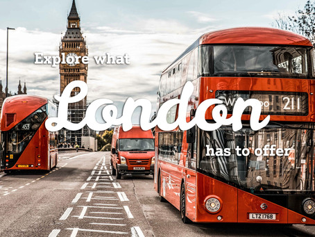 Our Top 5 Reasons to Visit London