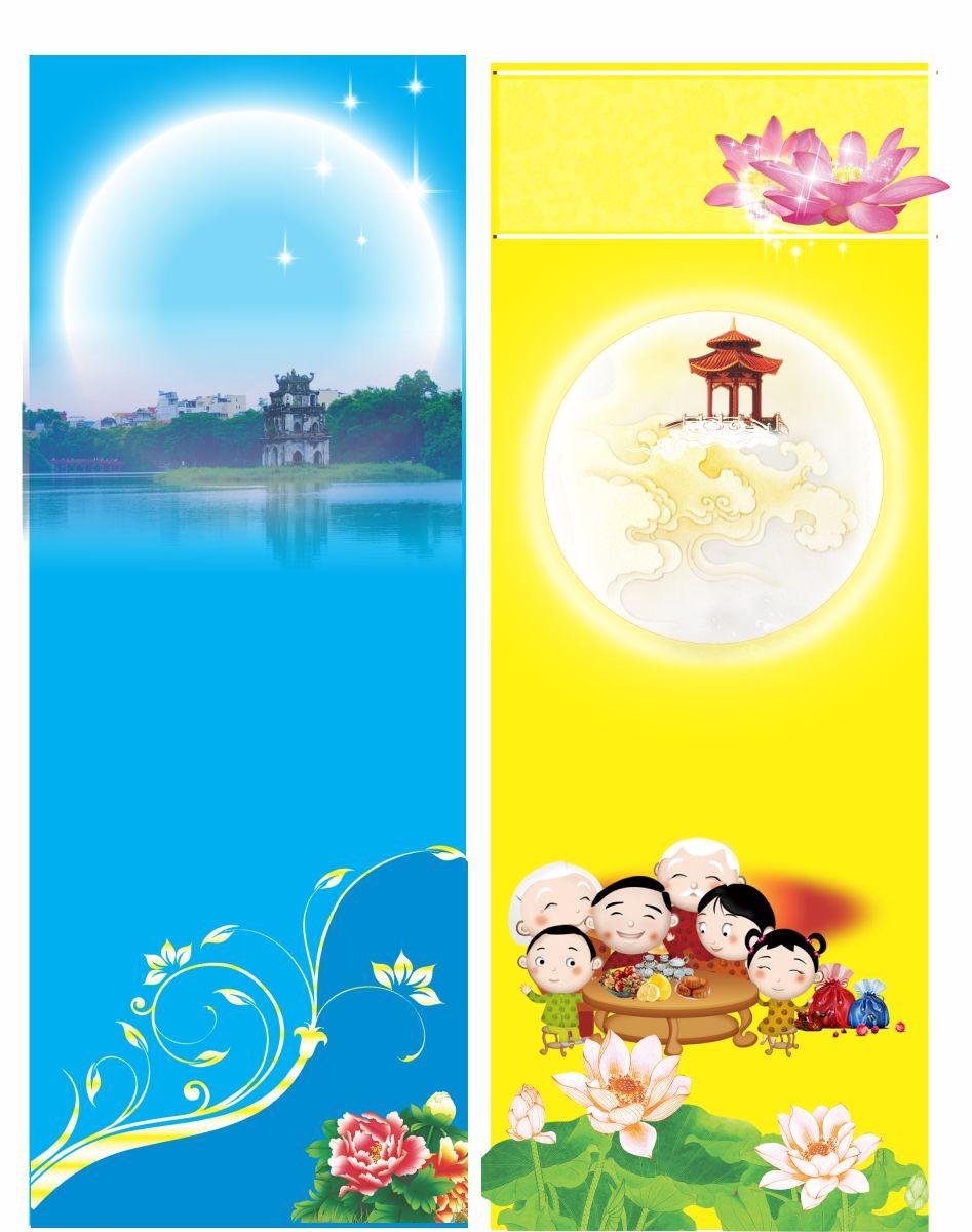 Banner Băng Rôn Trung Thu Vector Corel CDR Part29