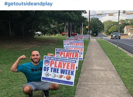 UR Player of the Week-Get a PIX@WAYA