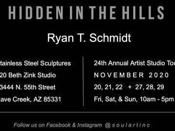 Hidden in the Hills 24th Annual Artist Studio Tour