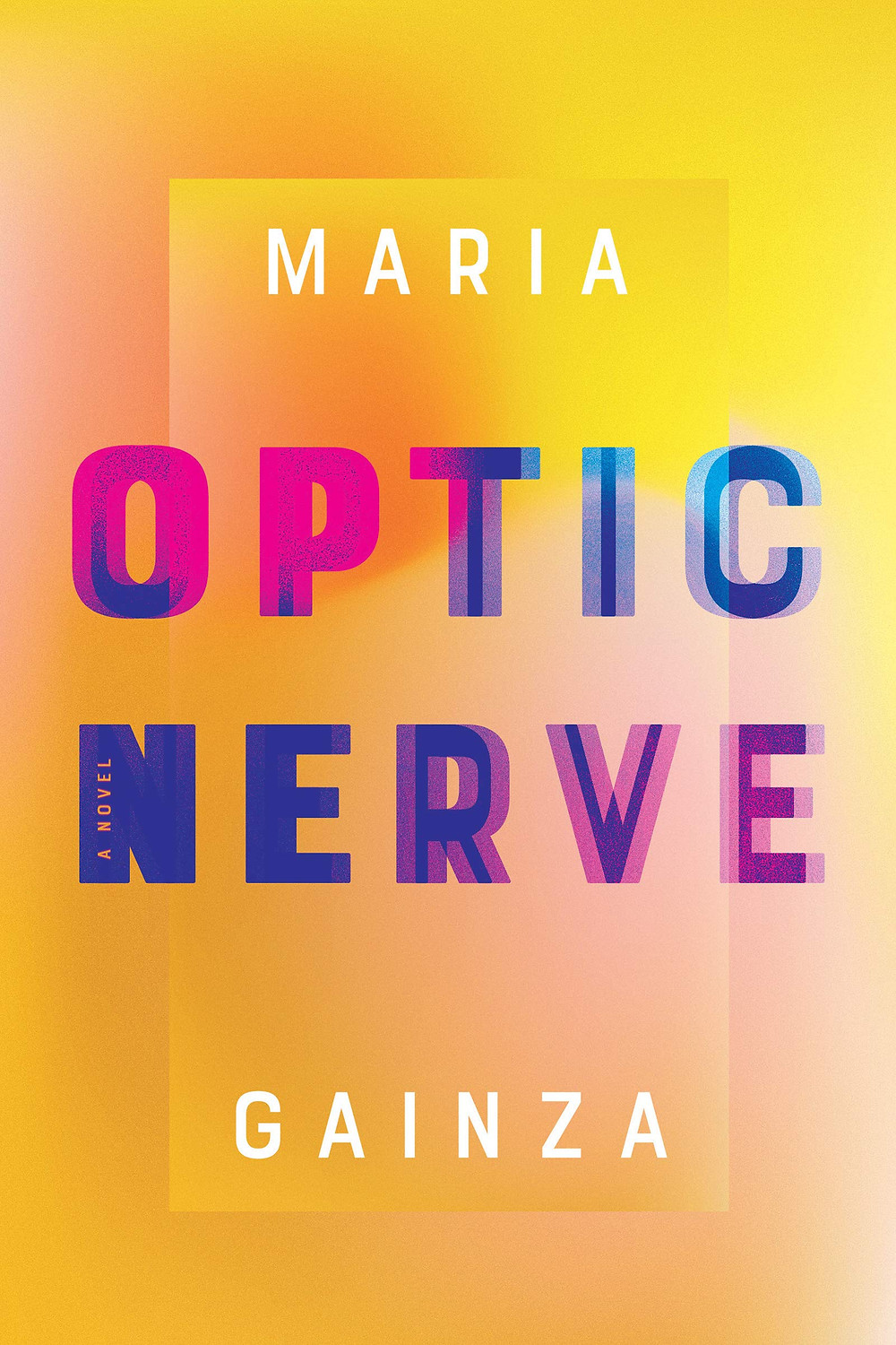 Optic Nerve by Maria Gainza : the book slut book reviews thebookslut
