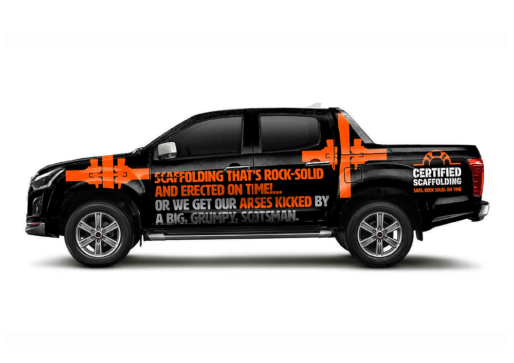 Certified Scaffolding Livery - by IQON design
